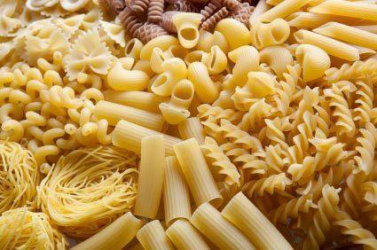 pasta koken soorten