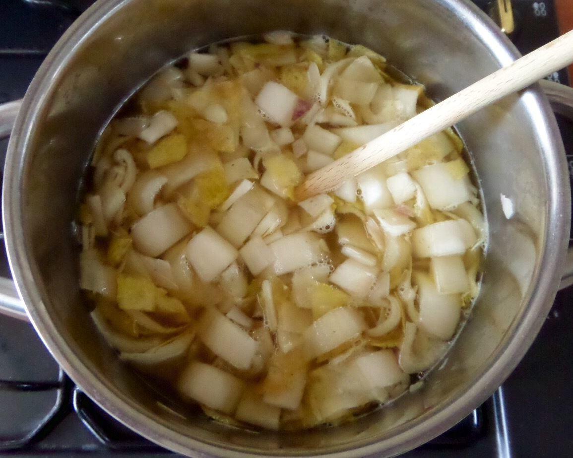 witlof koken en de gouden tip - zuurstofrijk tyent water