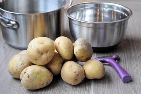 aardappels koken schoonmaken
