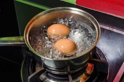koken eieren