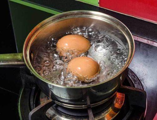 Ei koken of eieren koken in welk water?