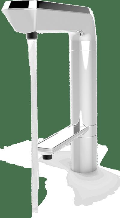 Alpha water ionisator kopen met Titanium Kraan