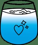 Gezond Water Drinken Logo
