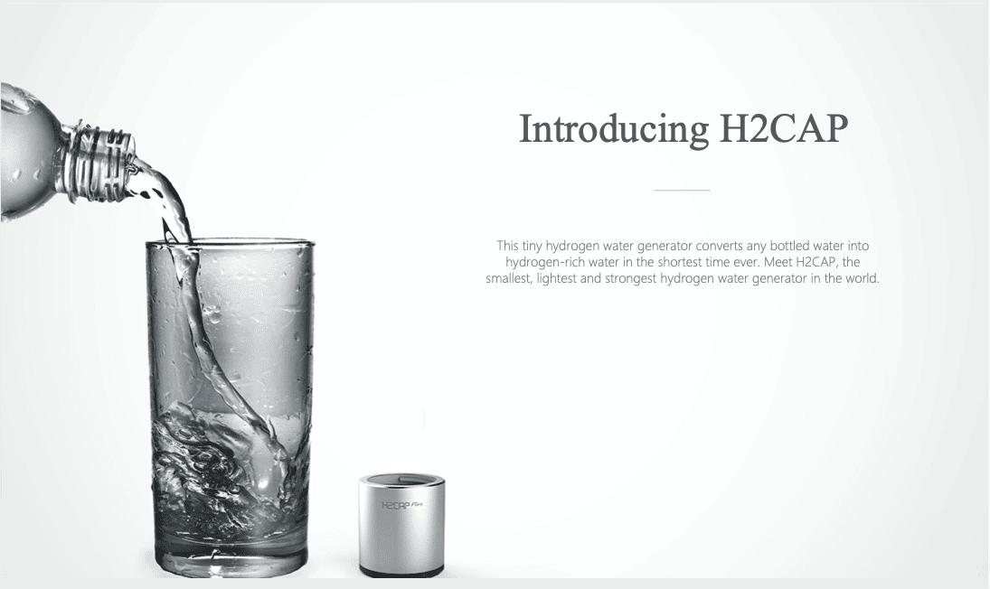H2CAP draagbare waterionisator
